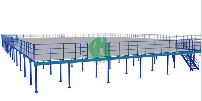 组合式钢平台